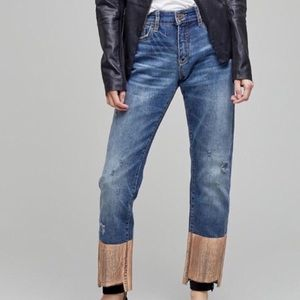 Anthropologie Pilcro and the Leatherpress jeans